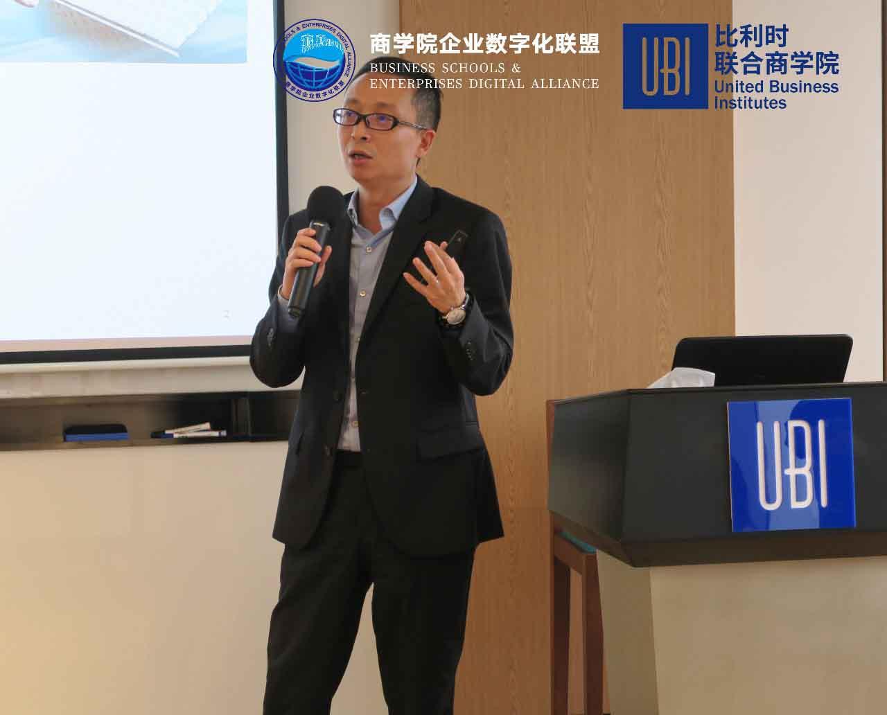 SAP中国方案架构部高级总监张栩翔